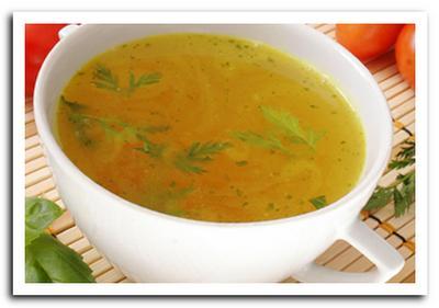 диетический суп из курицы