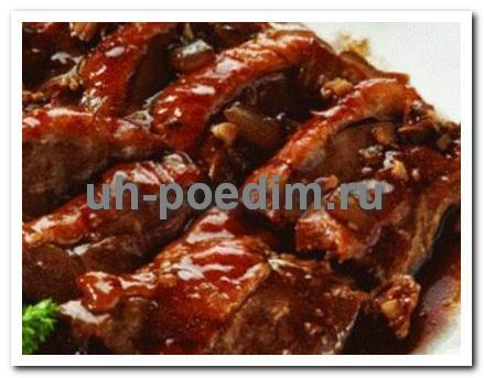 говядина с грибами рецепт