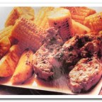 Как приготовить свинину с ананасами и кукурузой