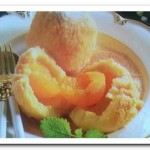 Рецепт клецок  с абрикосами