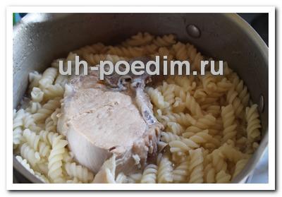 что приготовить из мяса и макарон