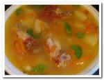 Готовим вкусный суп с куриными крылышками