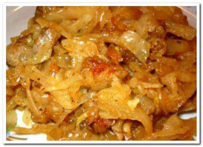 что приготовить из капусты и картошки и мяса