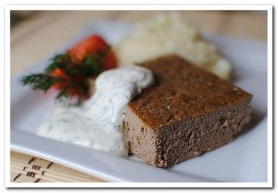 рецепт печеночного суфле с грибами