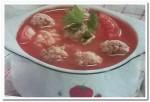Готовим вкусный томатный суп с фрикадельками