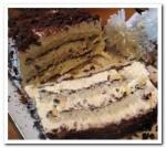 Швейцарский творожный торт с шоколадом
