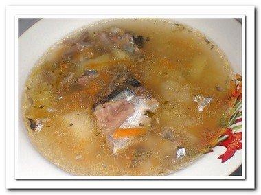 рецепт супа из рыбной консервы