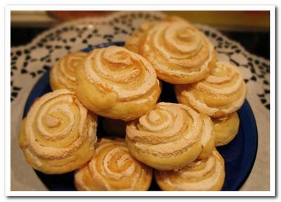 рецепт творожного печенья с безе