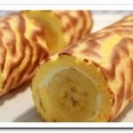 Готовим вкусный десерт – рулет с бананом