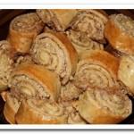 Готовим вкусные рулетики с ореховой начинкой