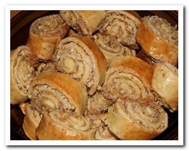 рулетики с ореховой начинкой