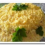 Салат из куриного филе «Бунито»
