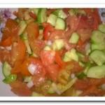 Легкий летний салат на скорую руку