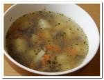 Готовим вкусный овощной суп с грибами