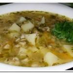Готовим традиционный суп-рассольник с перловой крупой