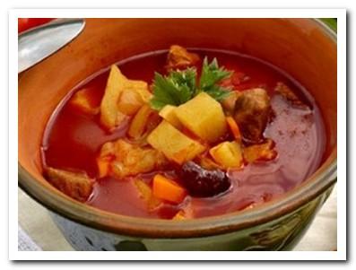 венгерский суп бограч гуляш