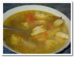 Готовим суп из курицы с клецками