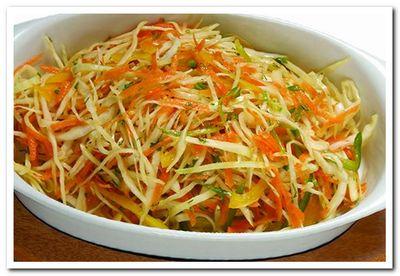 рецепт салата из капусты