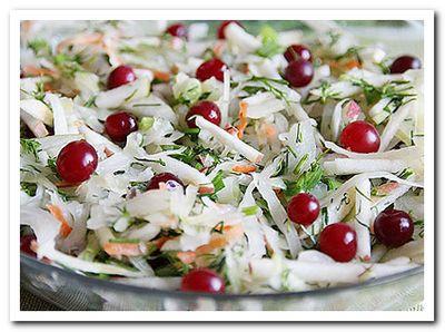 рецепт салата с квашеной капустой