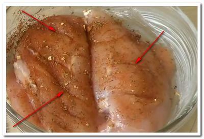 курочка в сметанном соусе в духовке