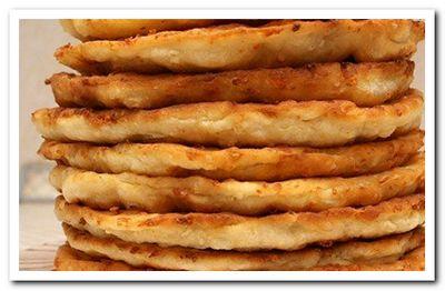 рецепт сырных лепешек с начинкой
