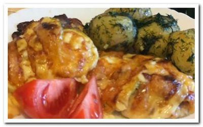 куриные бедрышки запеченные в духовке с фото рецепт