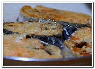рецепт рыбы под маринадом в духовке с фото