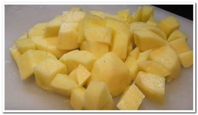 пюре сырное