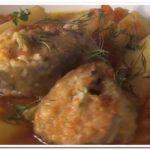 Очень вкусный рецепт рыбы в томате с овощами