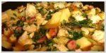 Как приготовить жаркое по-домашнему из курицы с картошкой