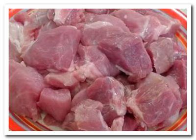 свинина кусочками рецепт