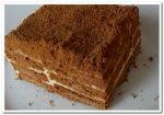 Готовим  рецепт творожного торта из печенья