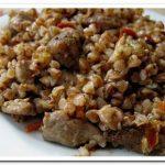 Как приготовить гречневую кашу с мясом