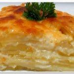 Готовим  картофель гратен или  картофельную запеканку с  сыром