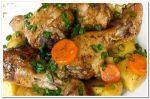 Очень вкусные куриные голени с картошкой