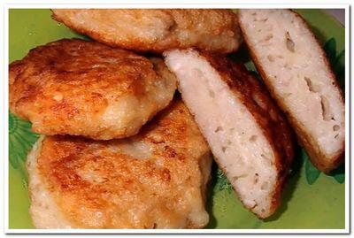 рецепт приготовления мясных оладий на кефире