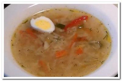 куриный рисовый суп рецепт