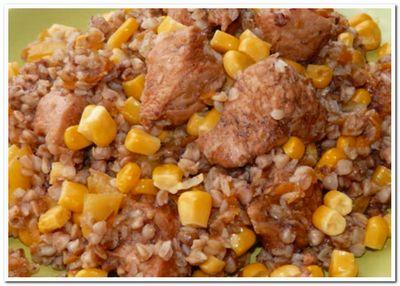 гречка с куриным филе рецепт с фото