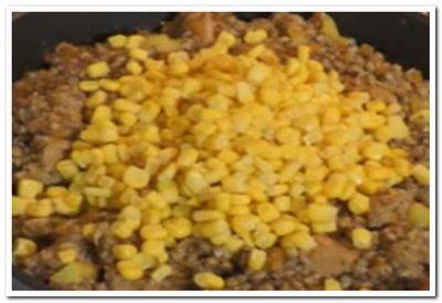 фото рецепта гречки с курицей