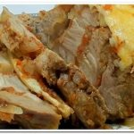 Очень вкусная свинина, запеченная в духовке