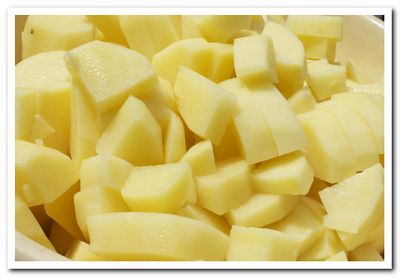 картофель для ухи из скумбрии