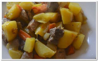 свинина с картошкой в рукаве в духовке