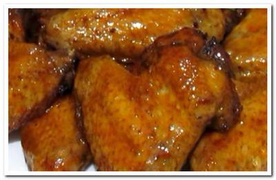 рецепт куриных крыльев