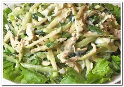рецепт диетического салата