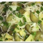 Готовим постный картофельный салат