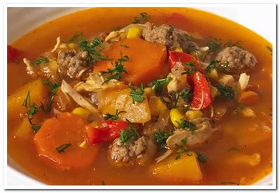 рецепт мексиканского супа
