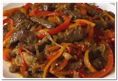 мясо по китайски