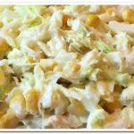 Как приготовить салат из пекинской капусты