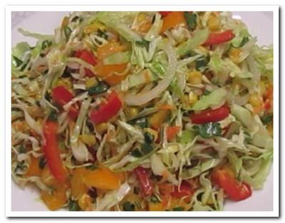 овощной салат рецепт с капустой