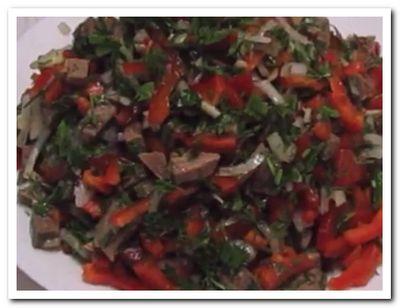как приготовить салат из говядины отварной